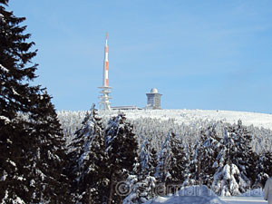 Brocken im Winter - Copyright Sternal Media